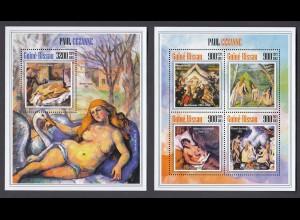 GUINEA-BISSAU Paul Cezanne Set (2013) postfrisch/** (MNH)
