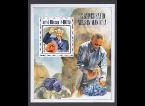 GUINEA-BISSAU Nelson Mandela (2013) postfrisch/** (MNH)