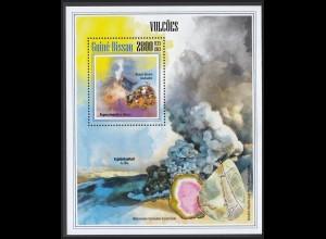 GUINEA-BISSAU Vulkane Volcanos (2013) postfrisch/** (MNH)