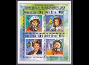 GUINEA-BISSAU Raumfahrt Valentina Tereshkova (2013) postfrisch/** (MNH)