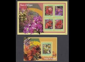 TOGO Blumen Flowers Set (2014) postfrisch/** (MNH)