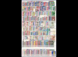 EUROPA CEPT Jahrgänge 1960-1969 komplett postfrisch/** (MNH)