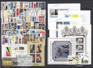EUROPA CEPT Jahrgang 1993 komplett + Zusatz postfrisch/** (MNH)