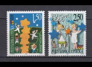 EUROPA CEPT BosnHerz (Serbische Republik) 2000 postfrisch/** (MNH) - € 120