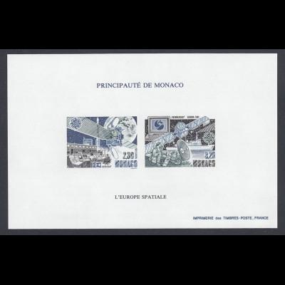 EUROPA CEPT Monaco MiNr. 2009/10 (1991) pfr/** (MNH) Sonderdruck/UNGEZ.- € 220