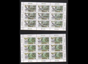 EUROPA CEPT Weißrussland 1999 Kleinbögen/minisheets postfrisch/** (MNH)