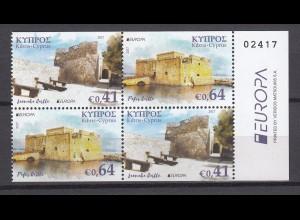 EUROPA CEPT Zypern 2017 aus Markenheftchen postfr./** (MNH)