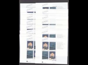 EUROPA CEPT Portugal-Azoren Block 13 (1993) postfr./** (MNH) - 20 Stück - € 200