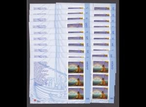 EUROPA CEPT Portugal-Azoren Block 17 (1997) postfr./** (MNH) - 20 Stück - € 160