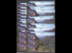 EUROPA CEPT Portugal-Madeira Block 18 (1999) postfr./** (MNH) - 20 Stück - € 130