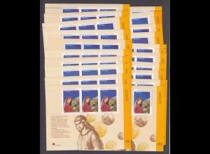 EUROPA CEPT Portugal Block 124 (1997) postfrisch/** (MNH) - 20 Stück - € 200.