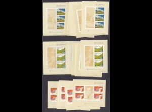 EUROPA CEPT Portugal/Azoren/Madeira Blocks (1983) postfr./** (MNH) - 10 Stück