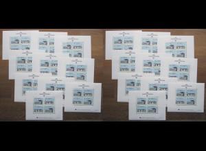 EUROPA CEPT Portugal Block 1990 postfrisch/** (MNH) - 20 Stück - € 300