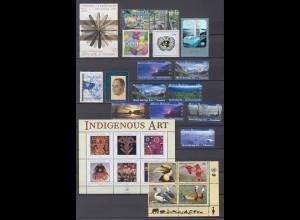 UNO NEW YORK Jahrg. 2003 fast komplett postfrisch/** (MNH)