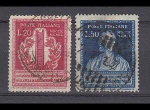 ITALIEN MiNr. 784/785 gestempelt/o (USED) - € 30