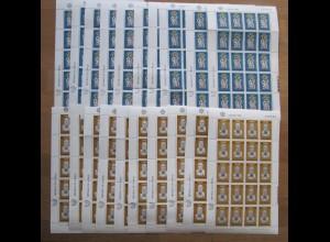 EUROPA CEPT Zypern 1980 Kleinbögen postfrisch/** (MNH) - 10 Bogensätze