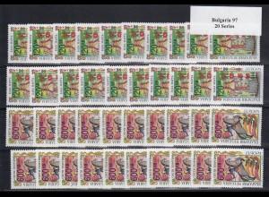 EUROPA CEPT Bulgarien 1997 postfrisch/** (MNH) - 20 Sätze - € 90